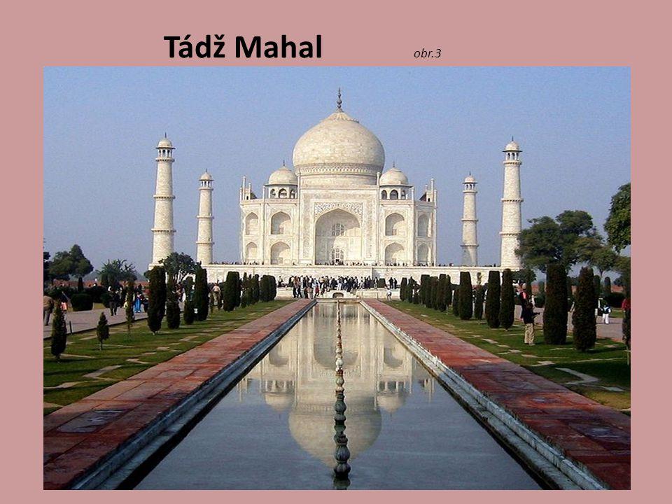 Tádž Mahal obr.3