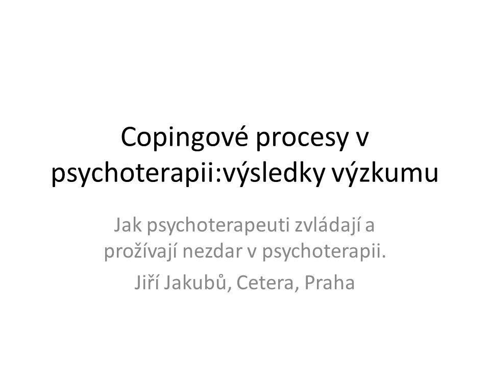 Adaptační chování V širším slova smyslu jde o zvládání zátěže v intencích teorií copingu.