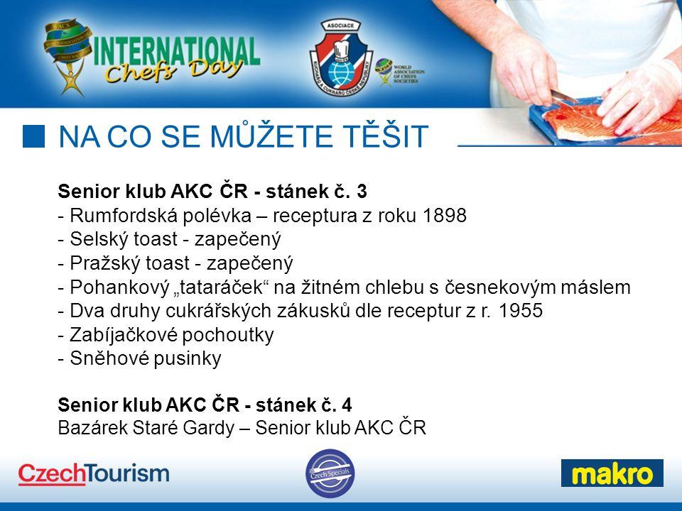 NA CO SE MŮŽETE TĚŠIT Senior klub AKC ČR - stánek č.