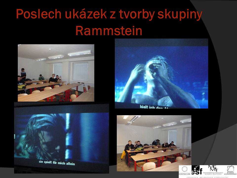 Ukázky z vystoupení skupiny Rammstein