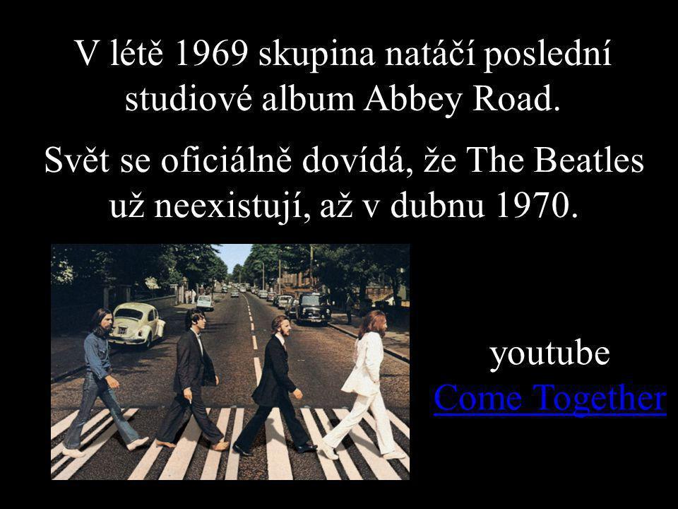 V létě 1969 skupina natáčí poslední studiové album Abbey Road.