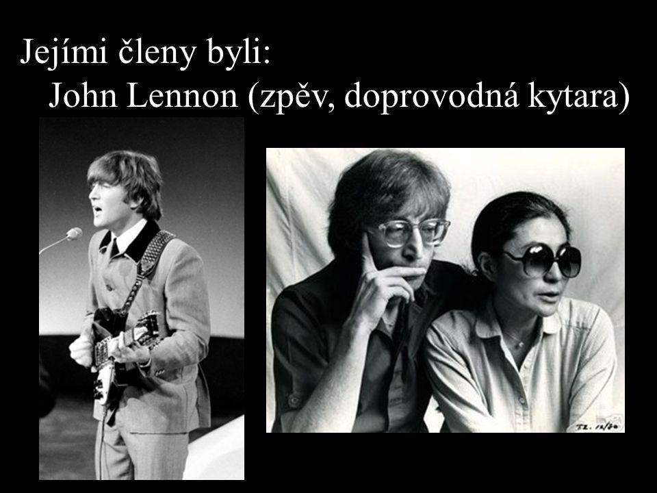 Paul McCartney (zpěv, basová kytara)