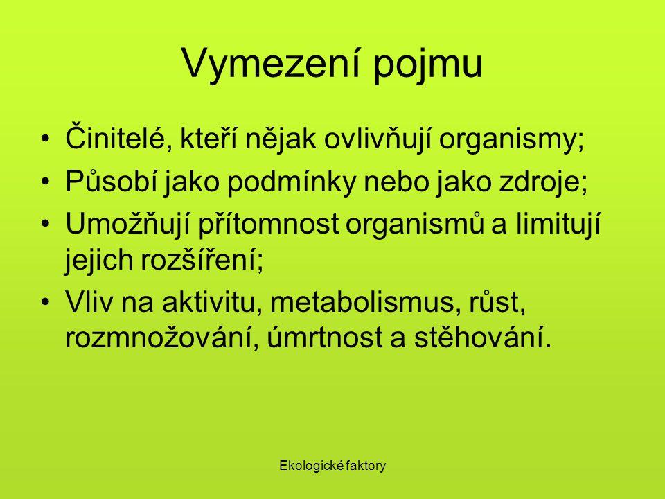 Ekologické faktory Plesnivec alpský (Leontopodium alpinum)
