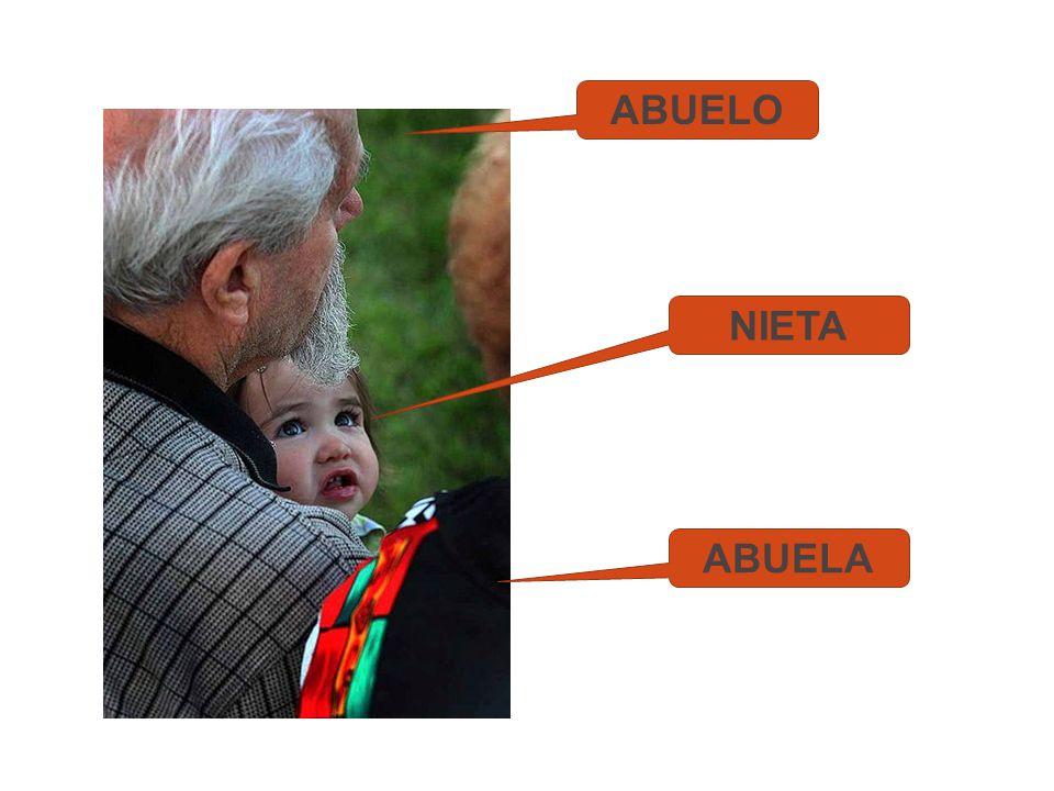ABUELO ABUELA NIETA