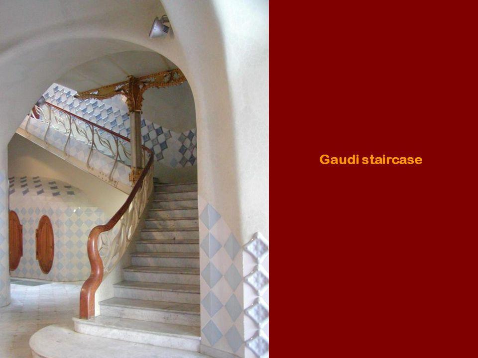 Gaudi staircase
