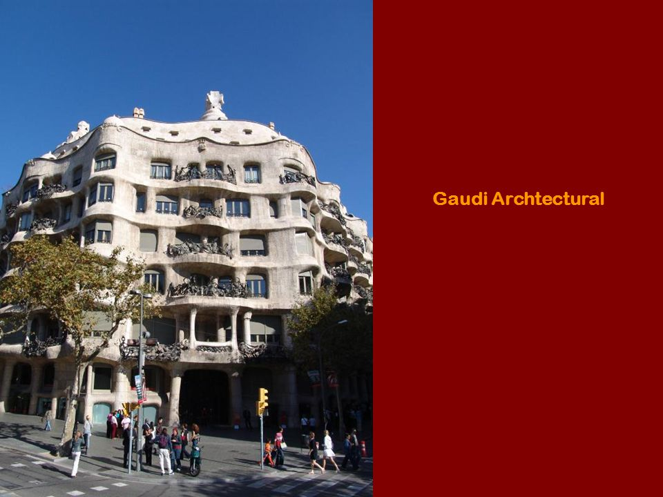 Gaudi Archtectural