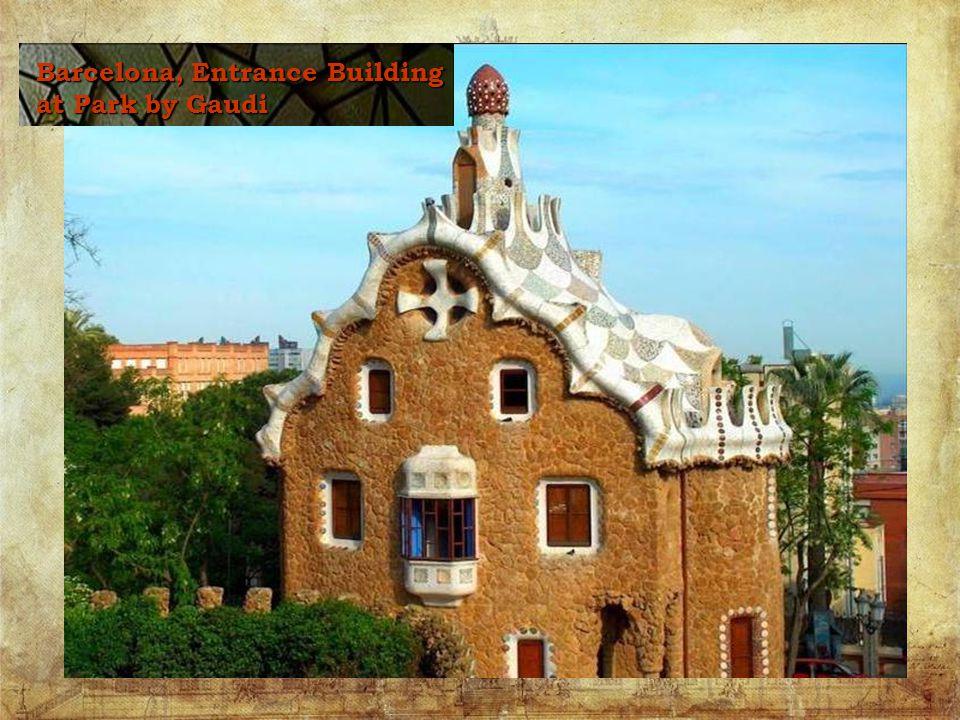 La Sagrada Familia - Gaudi smost famous work, it remains unfinished