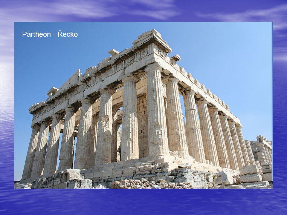Partheon - Řecko