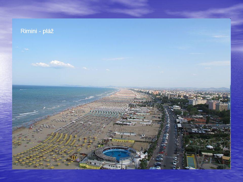 Rimini - pláž