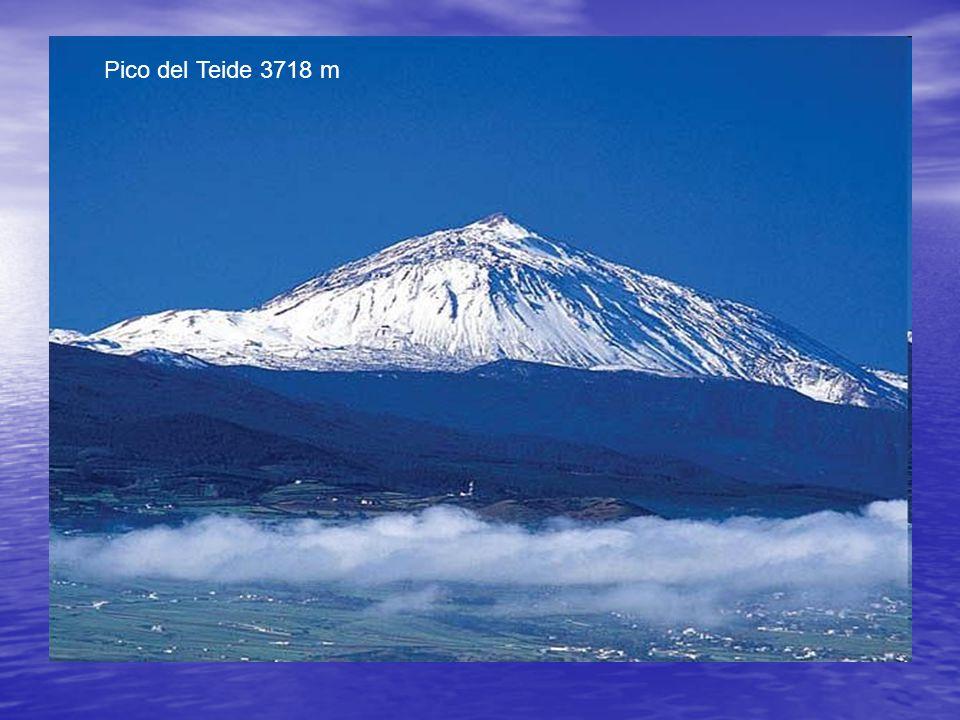 Pico del Teide 3718 m