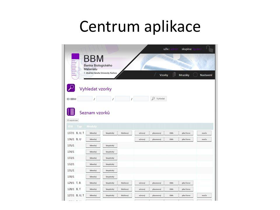 Centrum aplikace