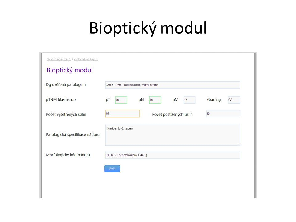 Bioptický modul
