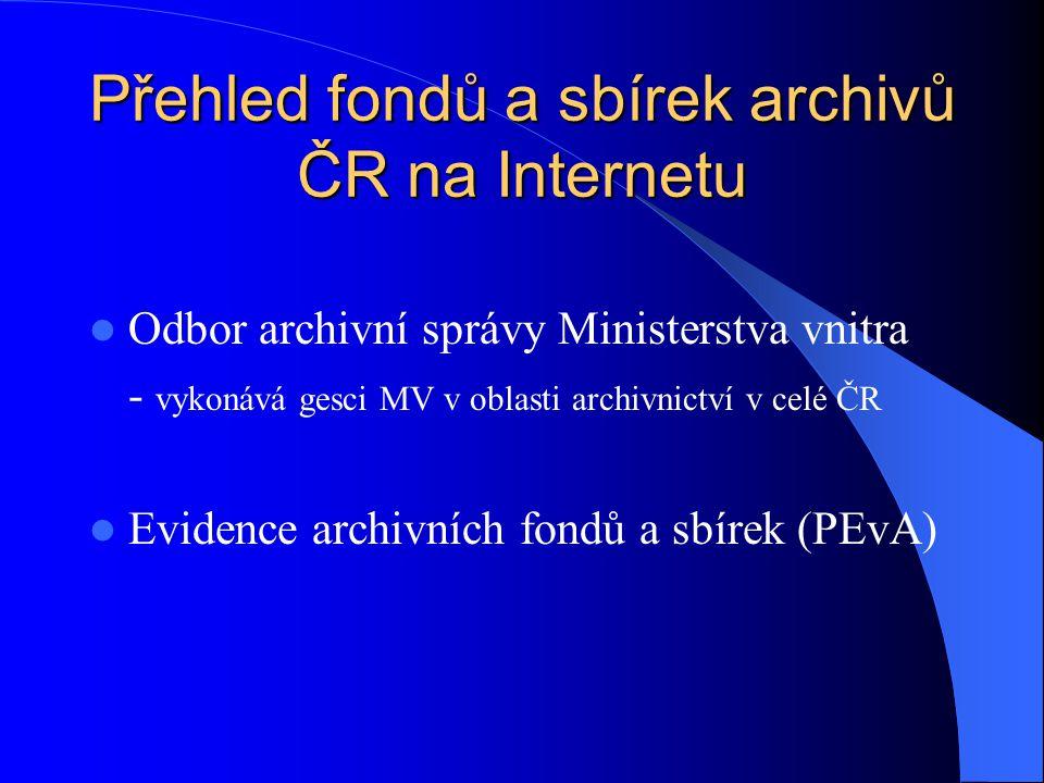 Co jsou archivní fondy a sbírky.Archivní fondy jsou základní evidenční jednotkou v archivnictví.
