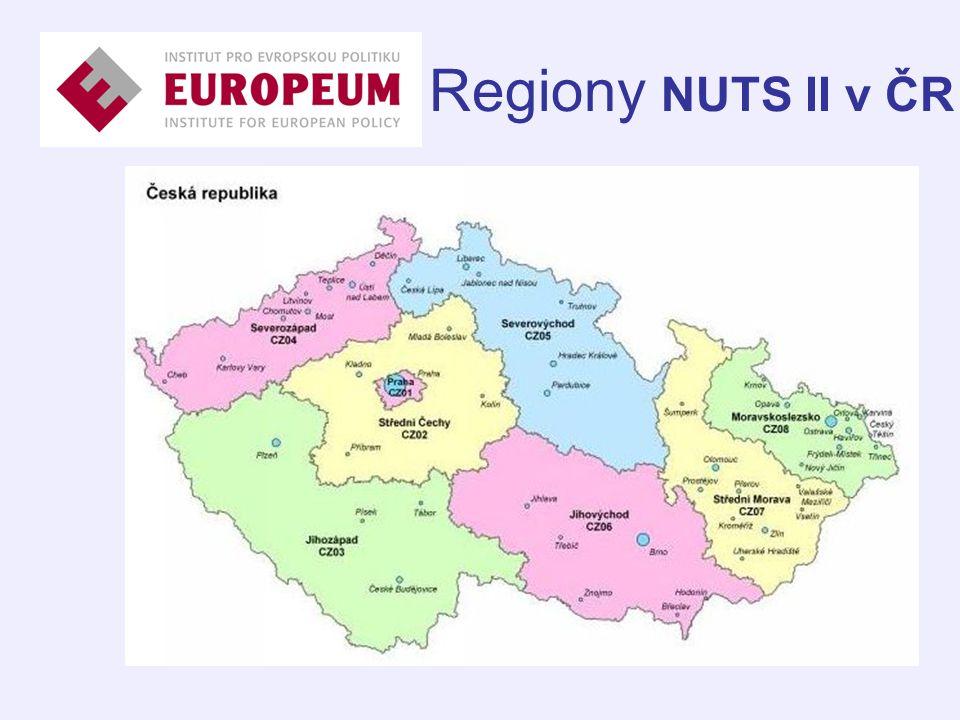 Regiony NUTS II v ČR