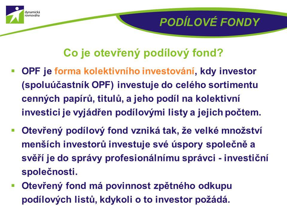  Uzavřený podílový fond je forma kolektivního investování do určitého podnikatelského záměru (typicky např. developerský projekt). Po naplnění potřeb