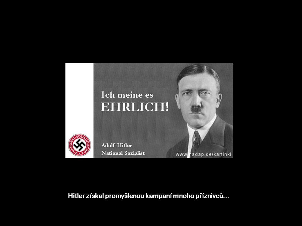 NSDAP, ten Hitler je fasa chlap! Já volím komunisty. A ty