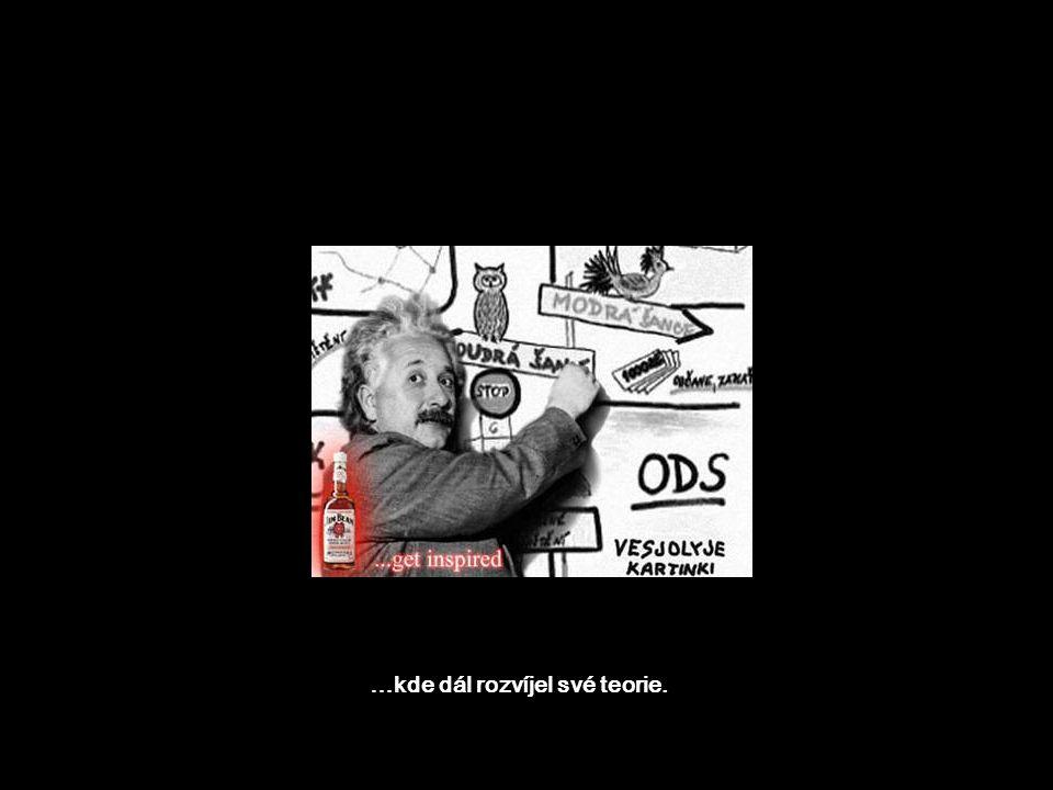Sám Einstein uprchl do Ameriky…