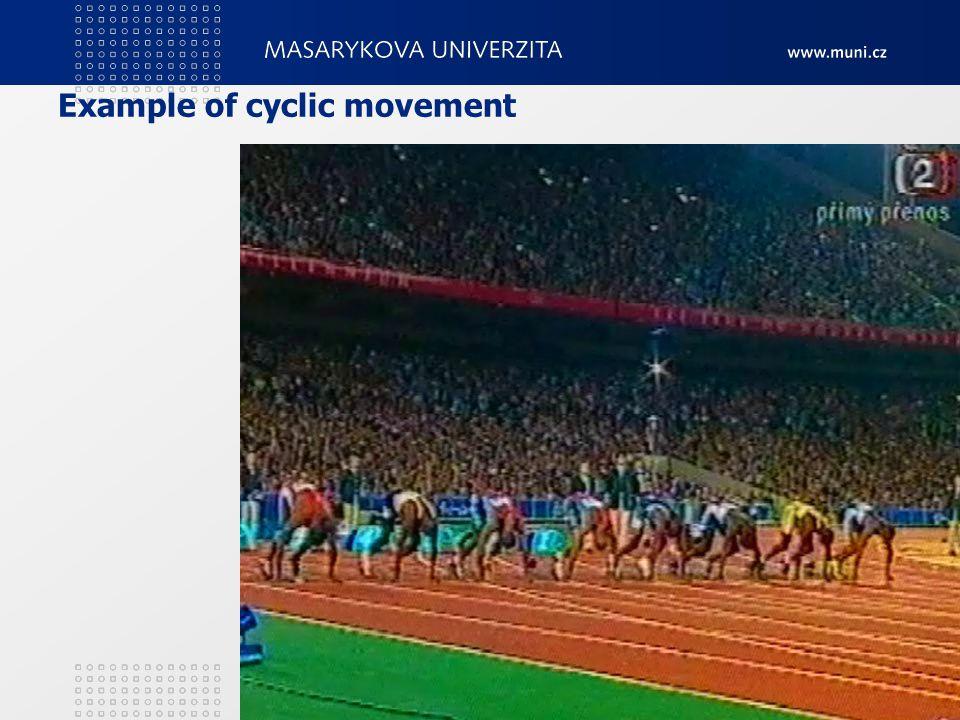 Example of cyclic movement 2. Teorie tělesných cvičení12