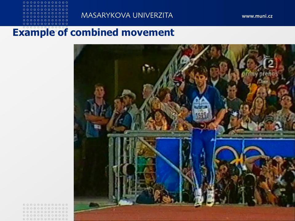 Example of combined movement 2. Teorie tělesných cvičení16