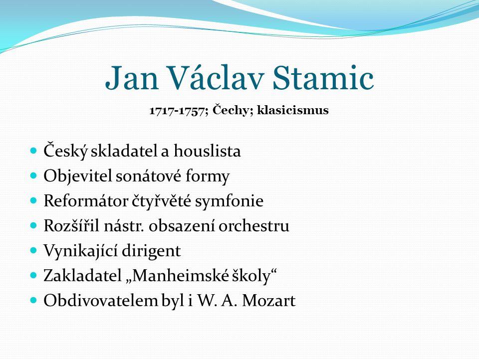 Jan Václav Stamic Obr.č.