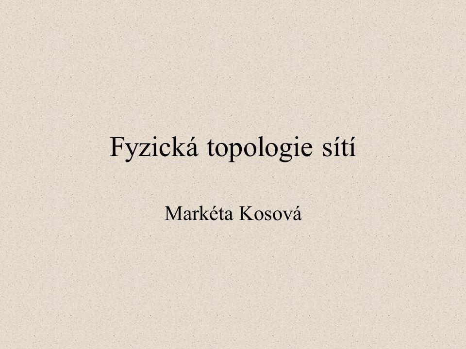 Fyzická topologie sítí Markéta Kosová