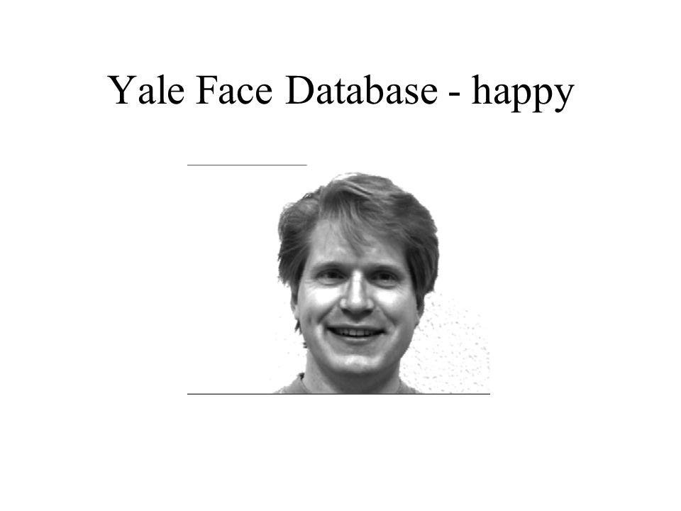 Yale Face Database - happy
