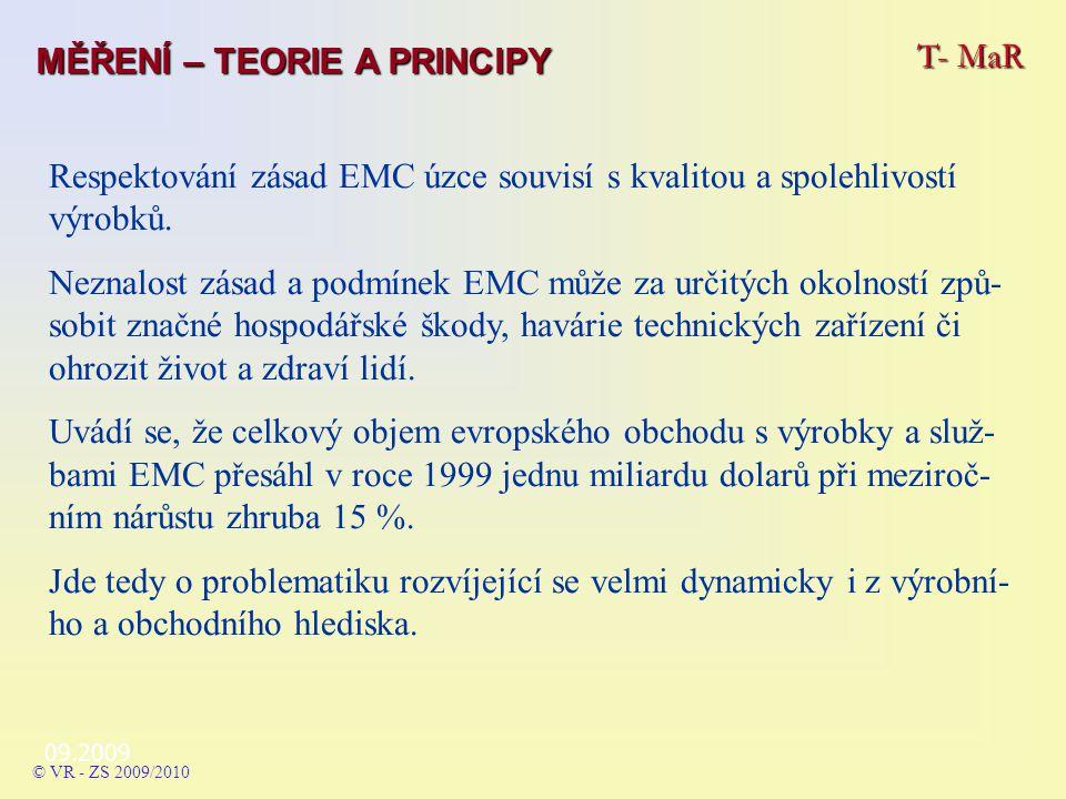 Respektování zásad EMC úzce souvisí s kvalitou a spolehlivostí výrobků.