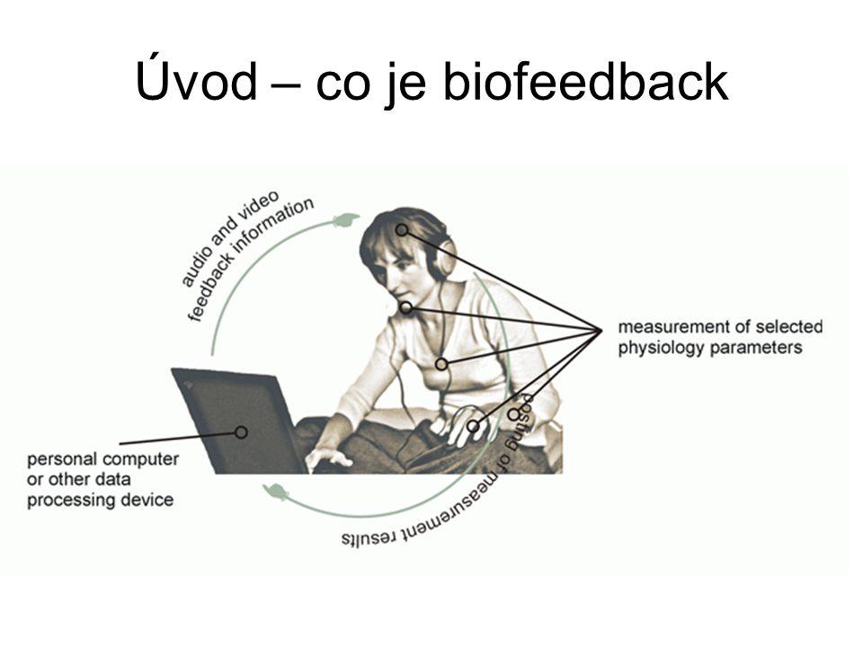 Počátky a historie biofeedback Psycholog a neurolog Neal Miller je považován za zakladatele biofeedback Prováděl experimenty na zvířatech se záměrem řídit tělesné procesy Umožnilo zjistit limity samo-řízení těla Autonomní nervový systém nemůže být řízen vůlí