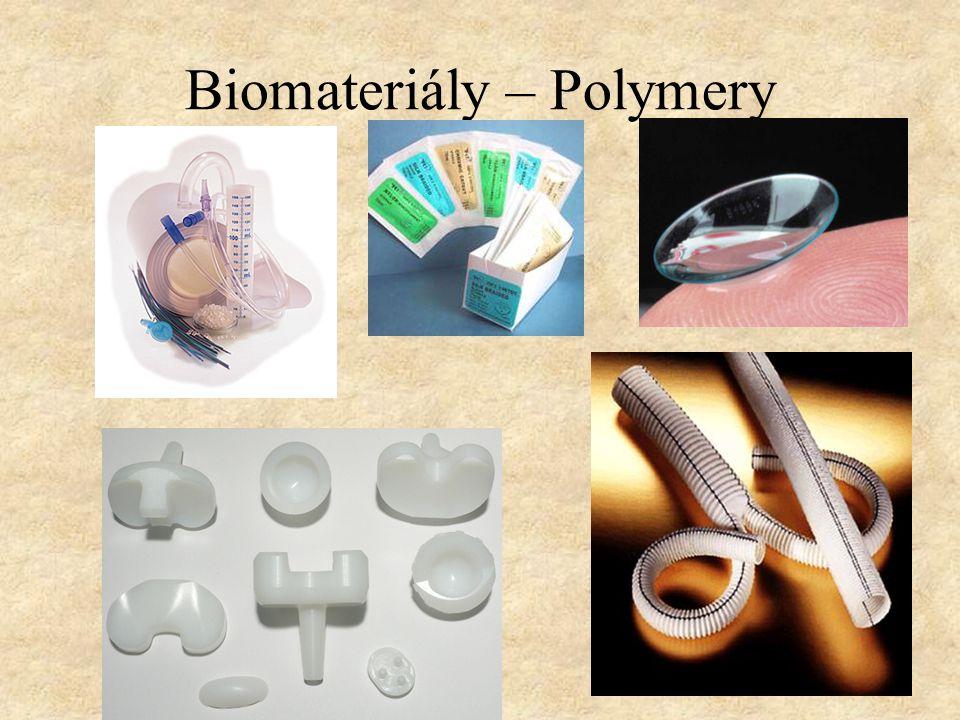 Biomateriály – Polymery
