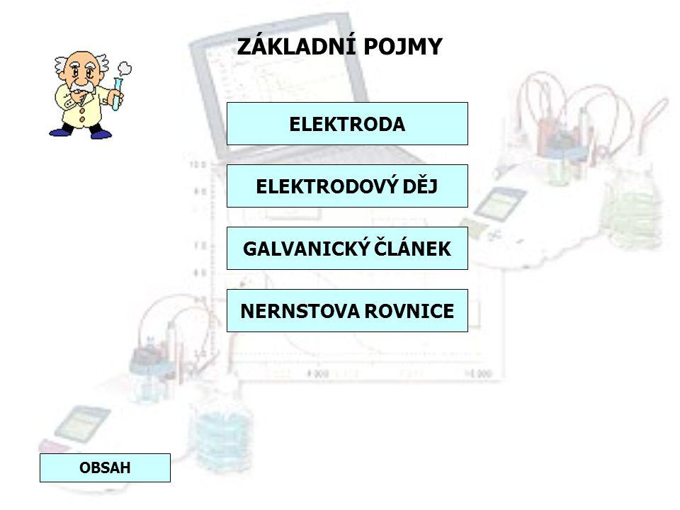 PRINCIP Potenciometrie je elektrochemická metoda, při které se měří rozdíl potenciálů (napětí) mezi dvěma elektrodami. Jedna z elektrod pracuje jako r