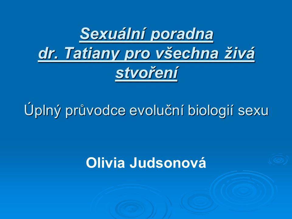 Sexuální poradna dr.