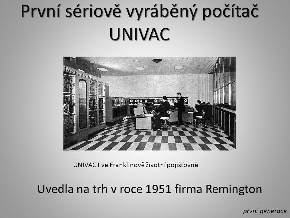 Od roku 1960 byly vyvíjeny první komerční tzv.