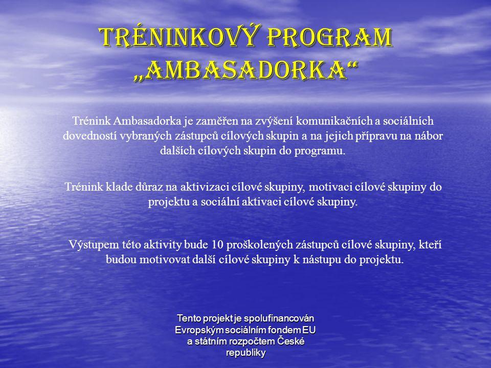 Tento projekt je spolufinancován Evropským sociálním fondem EU a státním rozpočtem České republiky Modulový program asistence samostatnost a zodpovědnost samostatnost a zodpovědnost orientace v ekonomickém životě a na trhu práce orientace v ekonomickém životě a na trhu práce aplikace teoretických vědomostí na praktických úlohách aplikace teoretických vědomostí na praktických úlohách komunikace a spolupráce komunikace a spolupráce umění využít podklady z hospodářské praxe podle platných právních předpisů a pochopení problematiky umění využít podklady z hospodářské praxe podle platných právních předpisů a pochopení problematiky absolventka získá nejen teoretický základ, ale zejména praktickou dovednost při zakládání malých podniků v tréninkových cvičeních absolventka získá nejen teoretický základ, ale zejména praktickou dovednost při zakládání malých podniků v tréninkových cvičeních orientace v legislativě ČR orientace v legislativě ČR výcvik v oblasti informačních technologií a používání internetu výcvik v oblasti informačních technologií a používání internetu písemný i telefonický hospodářský styk písemný i telefonický hospodářský styk fakturace a účetnictví fakturace a účetnictví znalost činnosti podnikového sekretariátu znalost činnosti podnikového sekretariátu Program klade důraz na osobní odpovědnost každé z absolventek za optimální připravenost k vlastnímu založení podniku a pomůže absolventkám programu získat následující dovednosti: