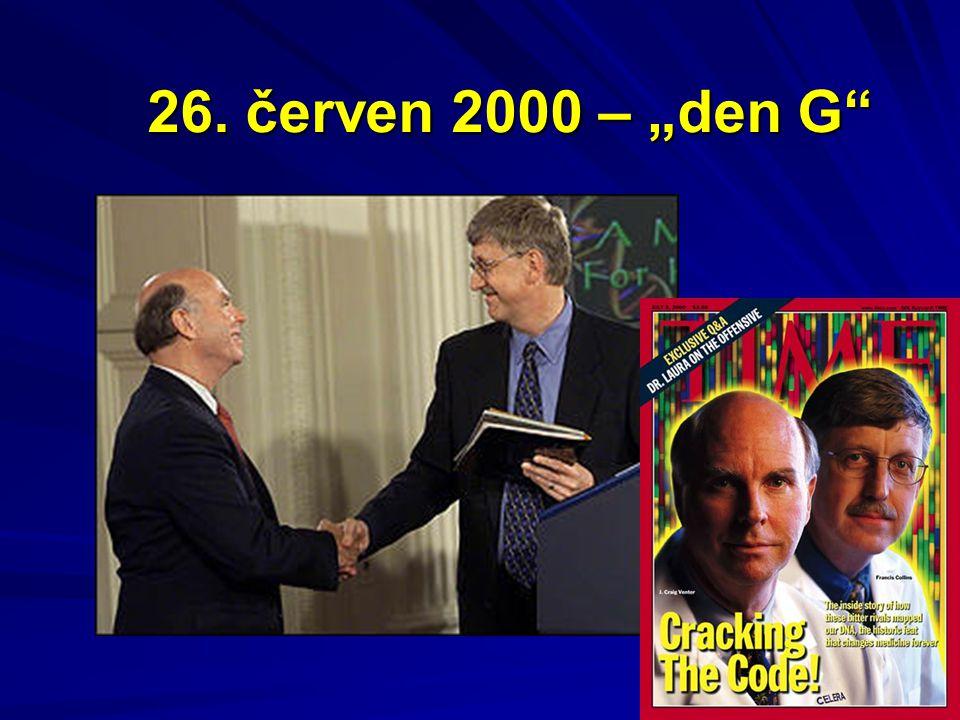 """26. červen 2000 – """"den G"""""""