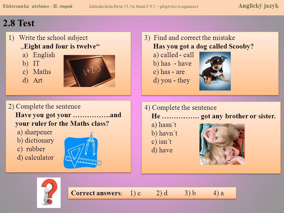 2.9 Použité zdroje, citace Elektronická učebnice - II.