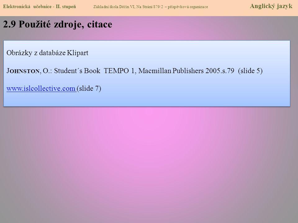 2.10 Anotace Elektronická učebnice - II.