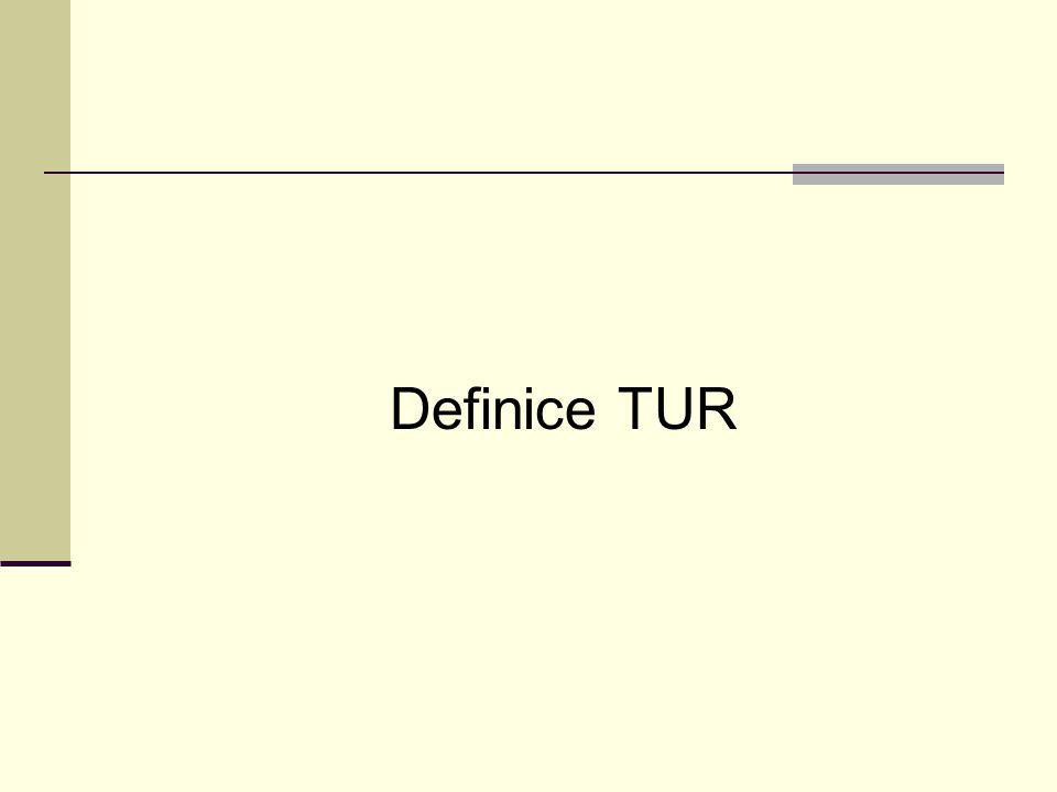 Definice TUR