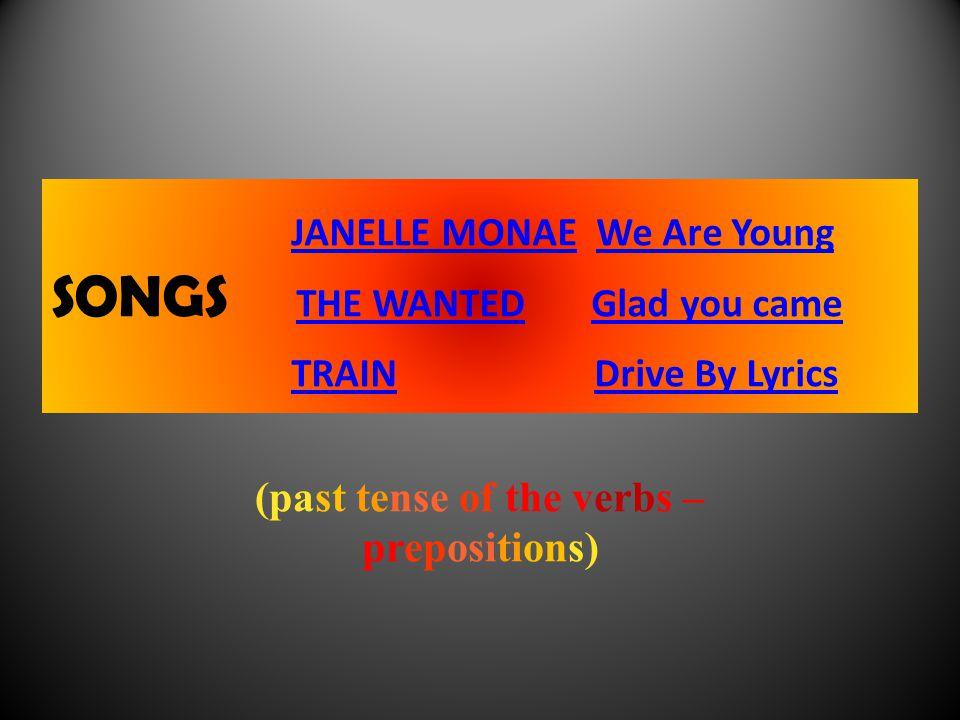 Písně - poslech, práce s textem.