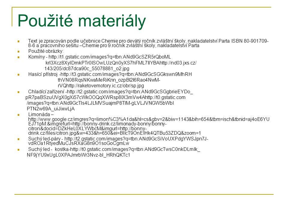 Oxid uhelnatý (CO) Vlastnosti a použití 14.1 nové učivo str. 22