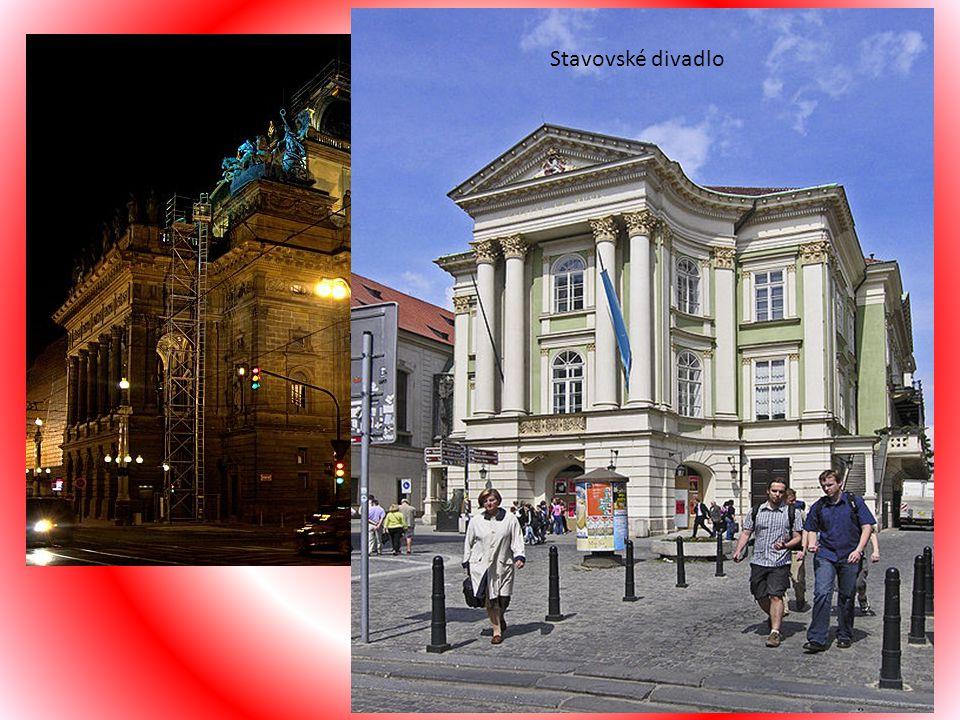 Praha se vyzna č uje mimo ř ádnou koncentrací malých i velkých divadelních scén. V nejvýznamn ě jším Národním divadle, jehož novorenesan č ní budova a