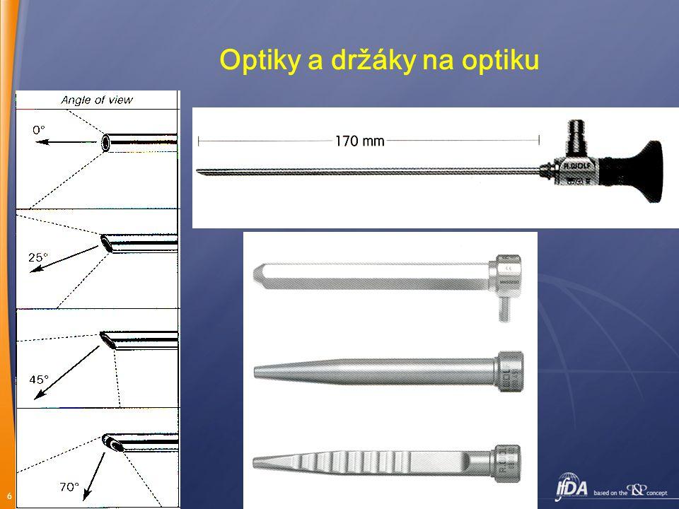 6 Optiky a držáky na optiku