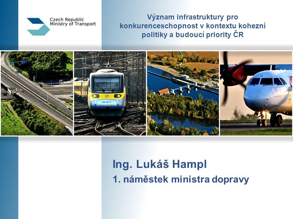 Význam infrastruktury pro konkurenceschopnost v kontextu kohezní politiky a budoucí priority ČR Ing.