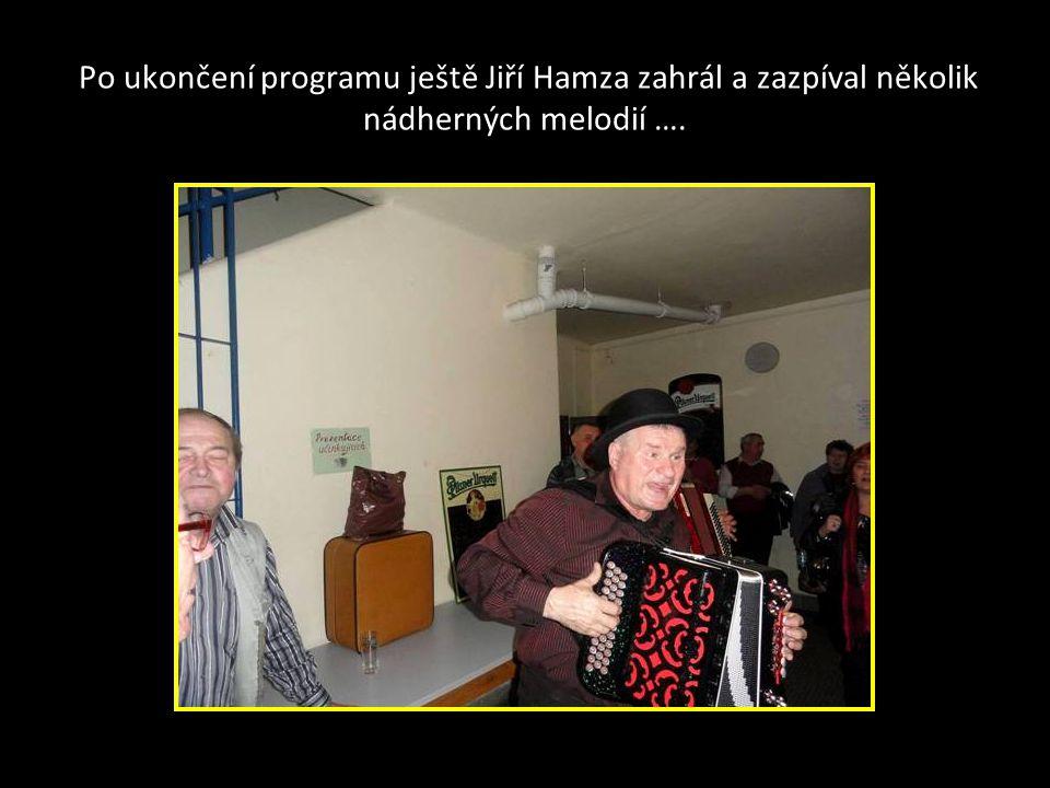 Poslední vystoupení heligonkáře Ladislava Berana Slavičín