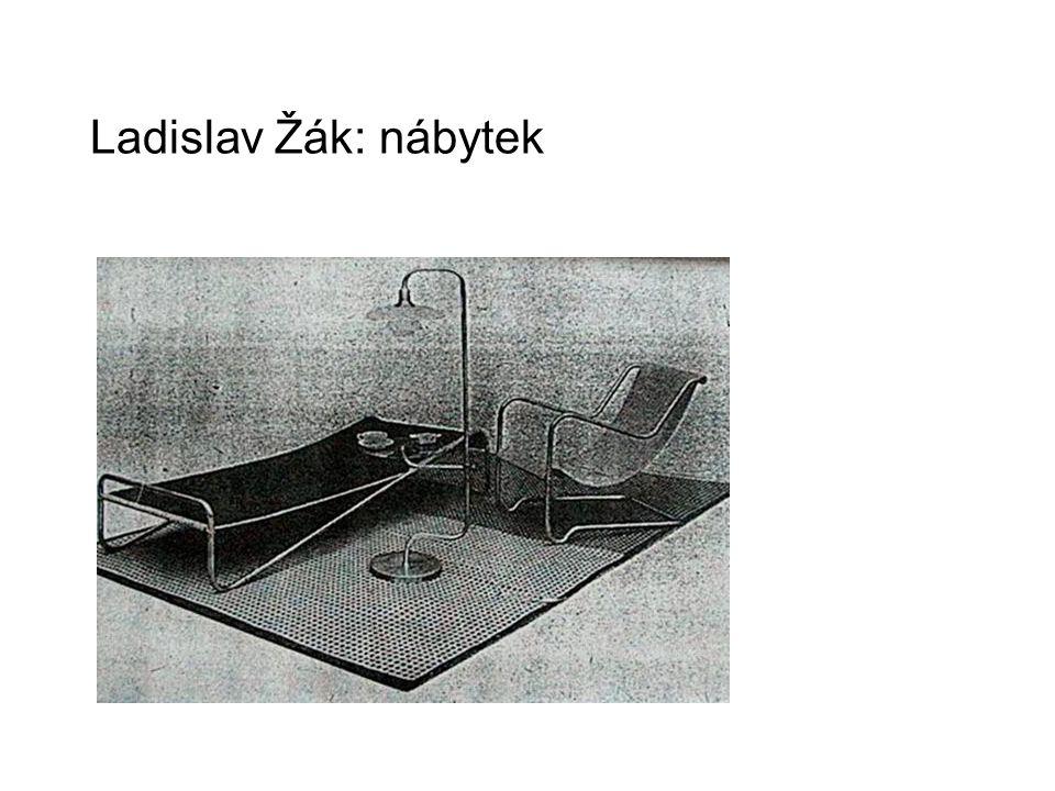 Ladislav Žák: nábytek