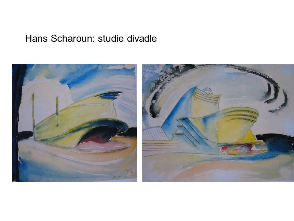 Hans Scharoun: studie divadle