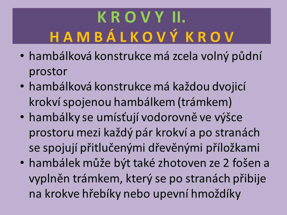 K R O V Y II. H A M B Á L K O V Ý K R O V Obr. 5