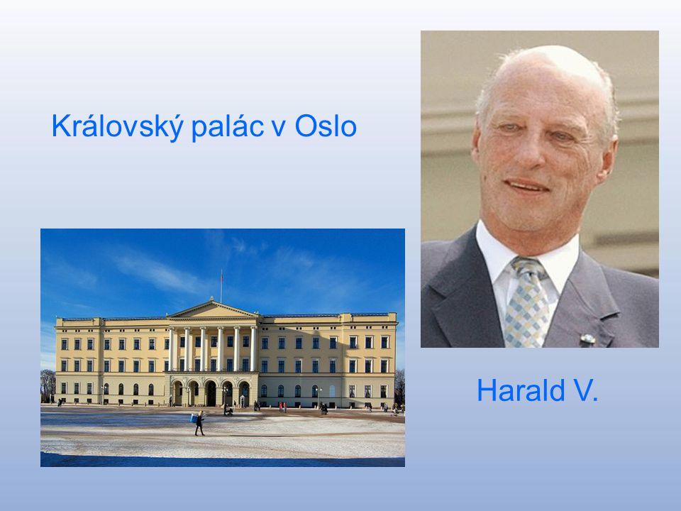Norské království Kongeriket Norge Hlavní město:Oslo Rozloha: 385 199 km^ Počet obyvatel:4 787 000 Král :Harald V.