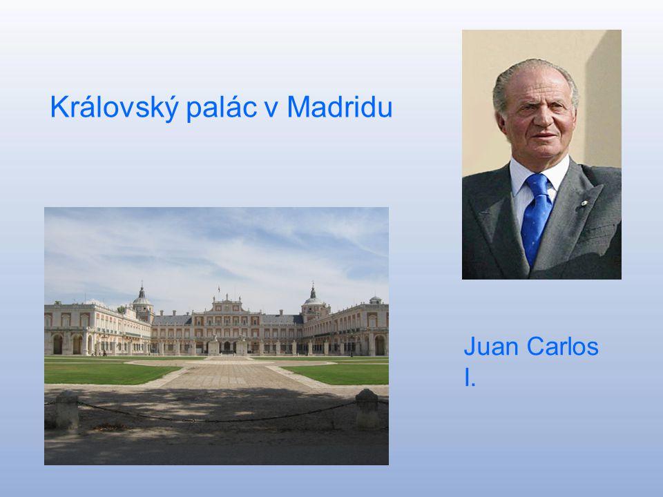 Španělské království Reino de Espaňa Hlavní město:Madrid Rozloha: 504 782 km^ Počet obyvatel: 46 063 511 Král :Juan Carlos I.