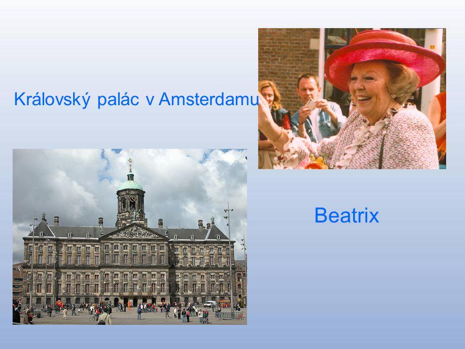 Nizozemsko Nederland Hlavní město: Amsterdam Rozloha: 41 526 km^ Počet obyvatel:16 335 998 Královna :Beatrix