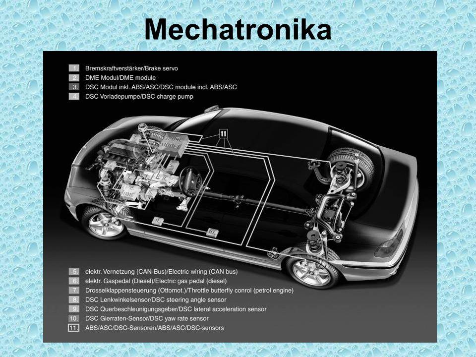 Ústrojí pohonu AWD – Porsche Rozvodovka PN – Mezinápravový diferenciál – Rozvodovka ZN – Převodovka – Spojka - Motor